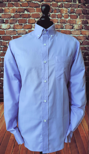 """Howard"" Lilac Handmade Button Down Shirt"